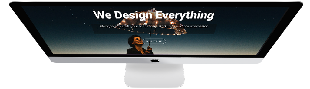 imac feature we design everything slide image